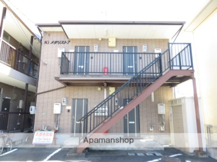静岡県浜松市中区向宿2丁目の賃貸アパートの外観