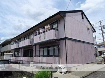 静岡県藤枝市瀬古2丁目の賃貸アパートの外観