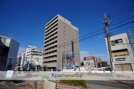 愛知県岡崎市明大寺町字川端の賃貸マンションの外観