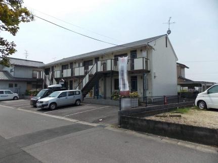 愛知県一宮市伝法寺6丁目の賃貸アパートの外観