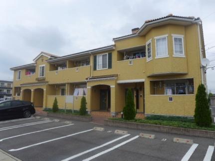 愛知県刈谷市一ツ木町5丁目の賃貸アパートの外観