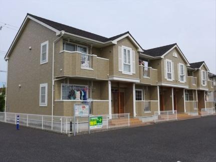 愛知県知立市山屋敷町霞山の賃貸アパートの外観