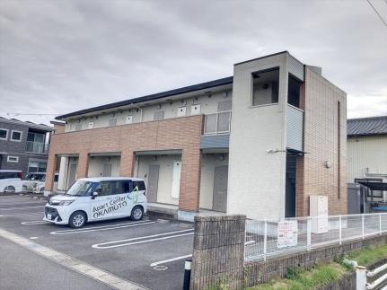 愛知県刈谷市東境町神田の賃貸アパートの外観
