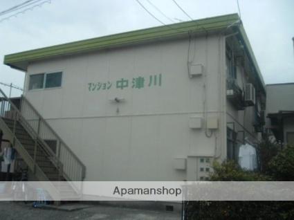 マンション中津川[202号室]の外観
