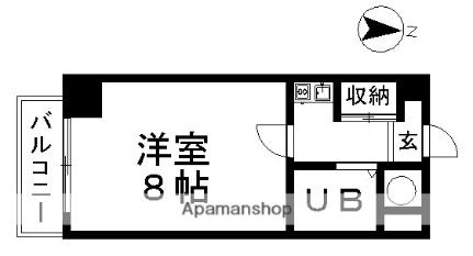 ALA大須ビル[402号室]の間取り