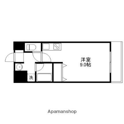 レジデンス甲賀土山[3階]の間取り