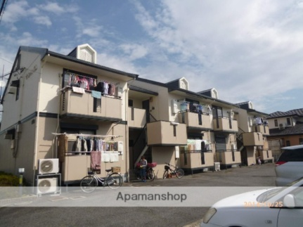 滋賀県守山市守山6丁目の賃貸アパートの外観