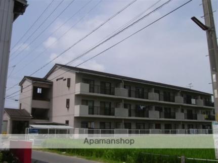 滋賀県東近江市東沖野3丁目の賃貸マンションの外観