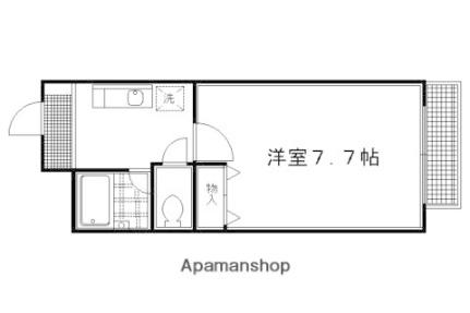 【分譲】DETOM−1千本智恵光院Ⅱ[103号室]の間取り