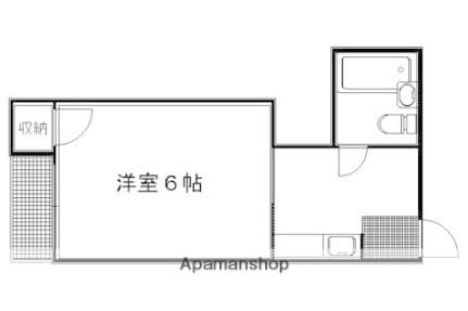 妙蓮寺前町マンション[31号室]の間取り