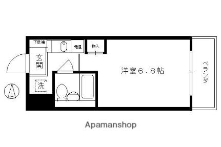 プラネシア京都[702B号室]の間取り