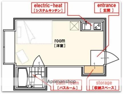 昭和グランドハイツ恵美須[5階]の間取り