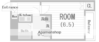 MY江之子島マンション[704号室]の間取り