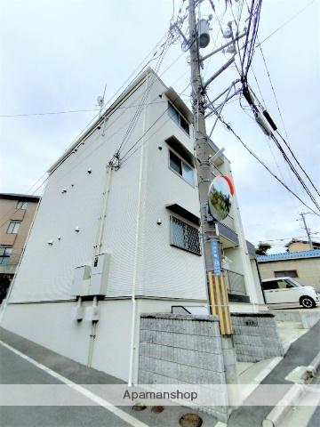 大阪府吹田市上山手町の賃貸アパートの外観