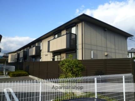 大阪府茨木市上野町の賃貸アパートの外観