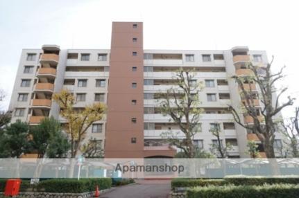 白川高層住宅1号棟[604号室]の外観