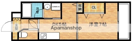 NLC新大阪PARTⅢ[803号室]の間取り