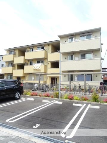 大阪府大阪市東住吉区湯里6丁目の賃貸アパートの外観
