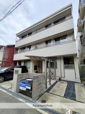 大阪府大阪市阿倍野区阪南町4の賃貸アパートの外観