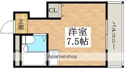 レジデンス山田[407号室]の間取り