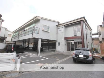 大阪府枚方市黄金野2丁目の賃貸アパートの外観