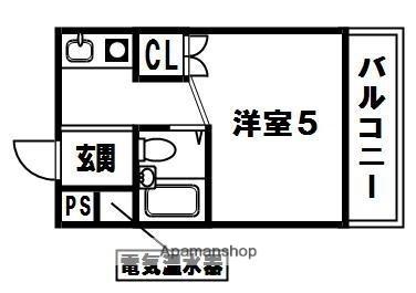 PAL HOUSE K[207号室]の間取り
