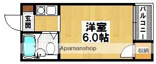 プレアール材木町[2階]の間取り