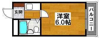 大阪府堺市堺区錦綾町1丁の賃貸マンションの間取り