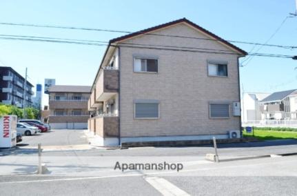 大阪府泉佐野市中町1丁目の賃貸アパートの外観