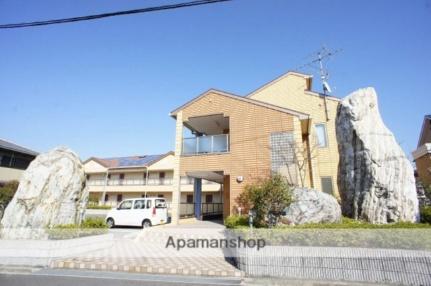 大阪府岸和田市上松町の賃貸アパートの外観