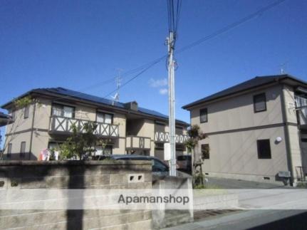 大阪府岸和田市岡山町の賃貸アパートの外観
