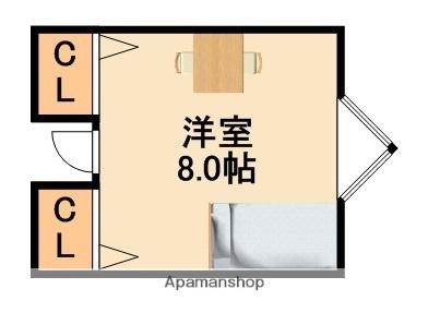 シェアハウス千里古江台[2号室]の間取り