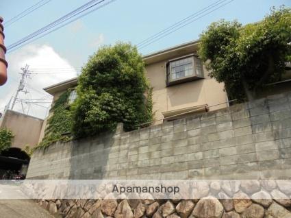 兵庫県芦屋市山芦屋町の賃貸アパートの外観