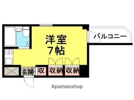 キューブ東武庫之荘2[301号室]の間取り