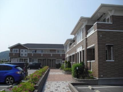 和歌山県御坊市藤田町吉田の賃貸アパートの外観
