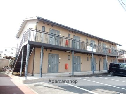 岡山県岡山市北区奥田1丁目の賃貸アパートの外観