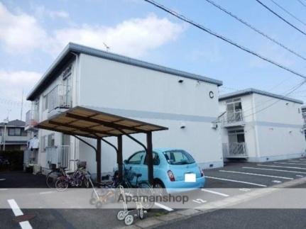 岡山県岡山市南区南輝2丁目の賃貸アパートの外観
