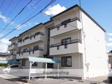岡山県岡山市北区尾上の賃貸マンションの外観