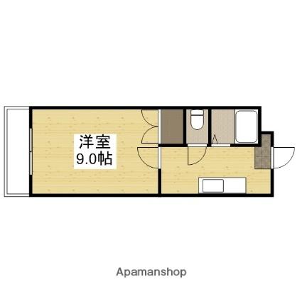YSハイツ21原尾島[105号室]の間取り