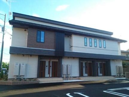 岡山県倉敷市福田町福田の賃貸アパートの外観