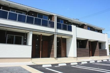 岡山県倉敷市東塚6丁目の賃貸アパートの外観