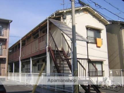 京山サンコーポ[202号室]の外観