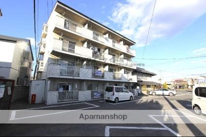 岡山県倉敷市沖新町の賃貸マンションの外観