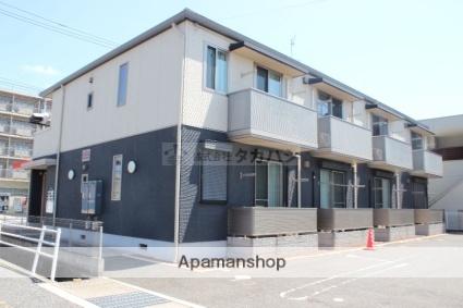 広島県福山市南手城町1丁目の賃貸アパートの外観