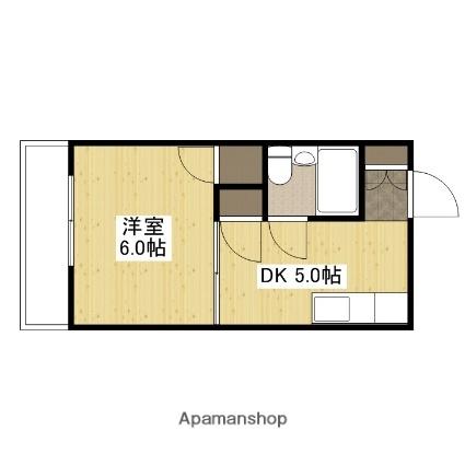 コテージミタキ[107号室]の間取り