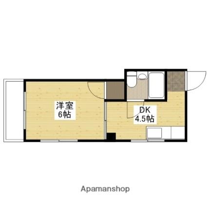 メゾン横川[4階]の間取り