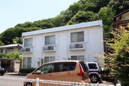 広島県広島市安芸区中野東1丁目の賃貸アパートの外観