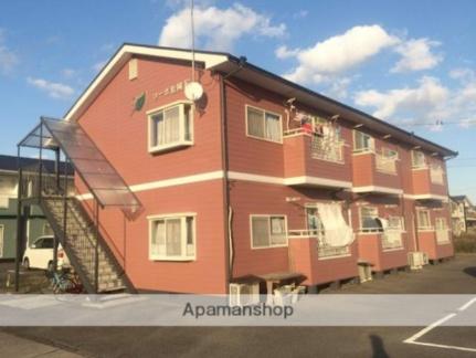 コーポ松岡E[203号室]の外観