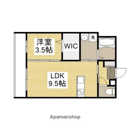 (仮称)沖野上新築マンション[202号室]の間取り