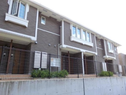 広島県呉市広白岳6丁目の賃貸アパートの外観